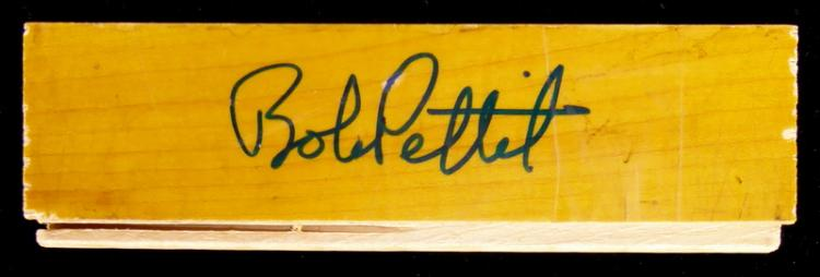 Forward BOB PETIT - Piece of Floorboard Signed