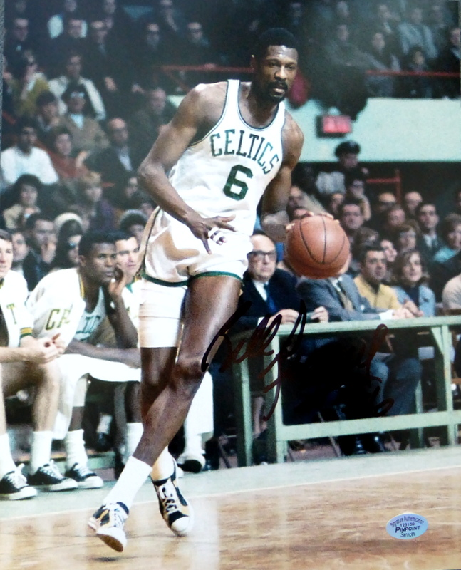 BILL RUSSELL - Photo Signed