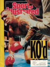Heavywgt Champ BUSTER DOUGLAS - SI Magazine Signed