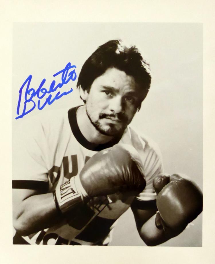 Boxer ROBERTO DURAN - Photo Signed
