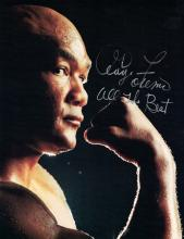 Heavywgt Champ GEORGE FOREMAN - Photo Signed
