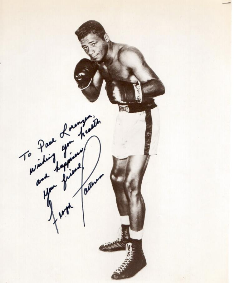 Heavywgt Champ FLOYD PATTERSON - Photo Signed