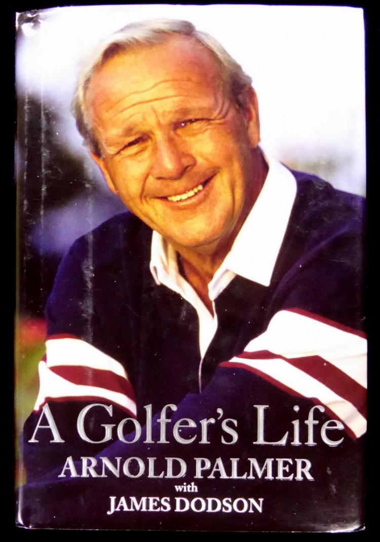 Golfer ARNOLD PALMER - His Book Signed, 1st Ed