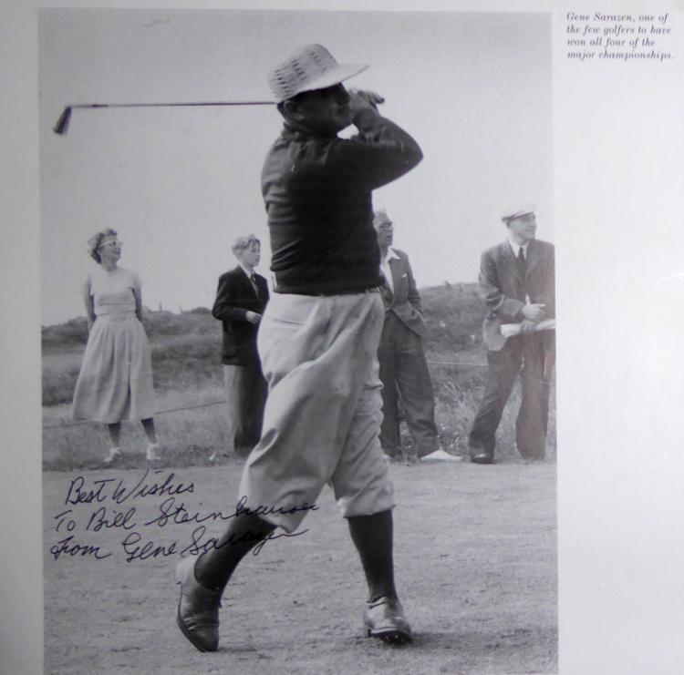 Golfer GENE SARAZEN - Photo Signed