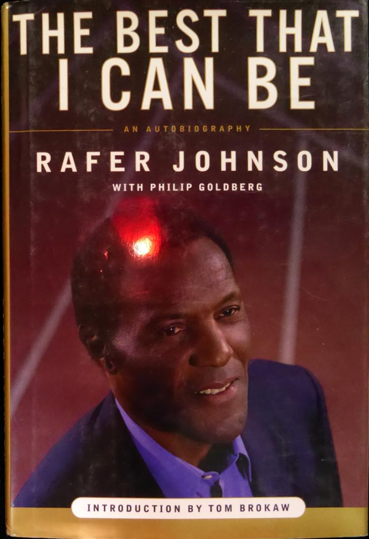 Olympic Chmpion RAFER JOHNSON - His Book Signed