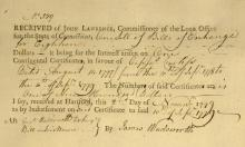 CT Continental Cert - Signed by JAMES WADSWORTH