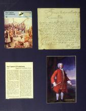 Louisbourg Financier WILLIAM PEPPERELL - ALS