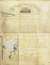 ANDREW JACKSON - Patent for thrashing machine