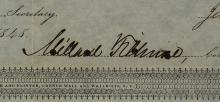 MILLARD FILLMORE - Railroad Bond Signed