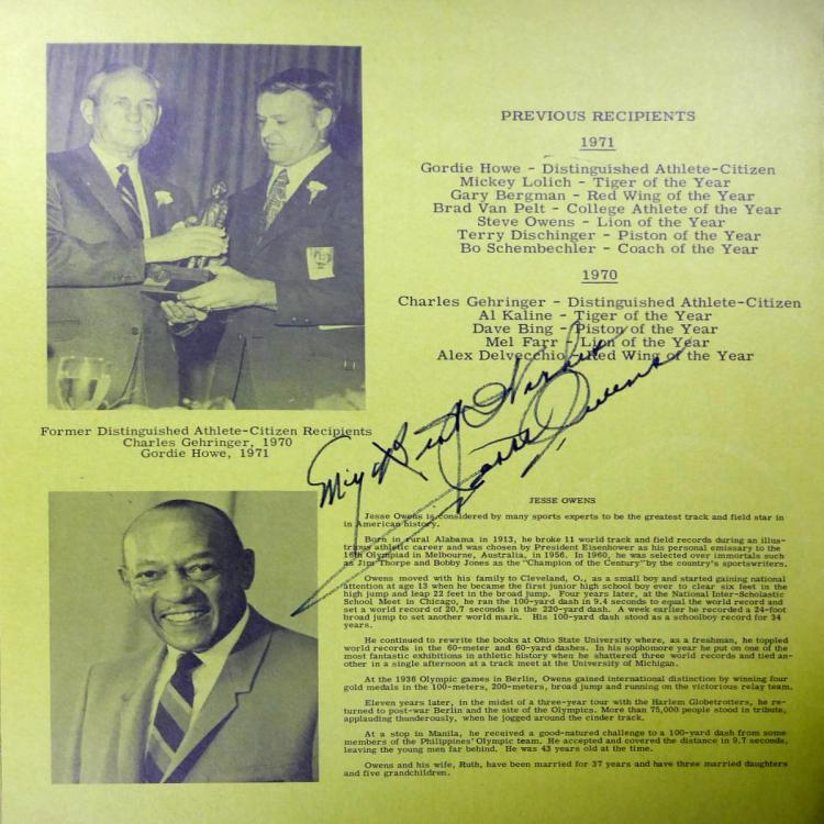 a description of jesse owens as the best track athlete at the 1936 olympics Track and field marty glickman, jesse owens and a  a gifted jewish-american athlete, who went on  this forgotten story of the 1936 olympics is.