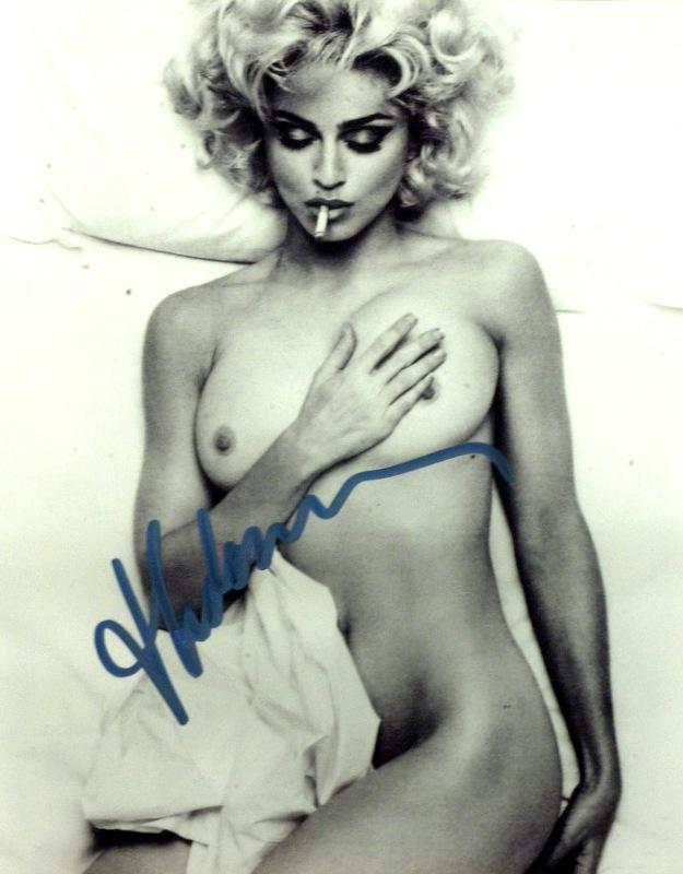 Madonna Posts Nude Photos On Instagram