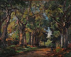 """Marcel PARTURIER (1901-1976) """"""""Allée de"""