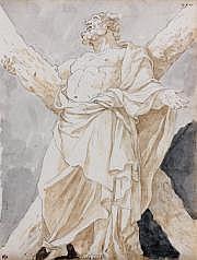 Charles de LA TRAVERSE (Paris 1725 -? 1787) Saint
