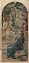 Luc Olivier MERSON (1846-1920) Le Christ devant, Luc-Olivier Merson, Click for value