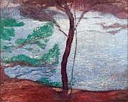 Michel SIMONIDY (1870-1933) Le pin parasol Huile