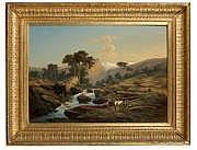 Heiner BAUMGARTNER (1891 - 1960) Paysage de