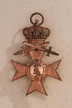 Bavarian Military Merit Cross, 3rd Class w/Crown and Swords