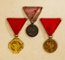 Group of Imperial Austria Merit Medals