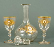 Imperial German Liquor Drinking Carafe