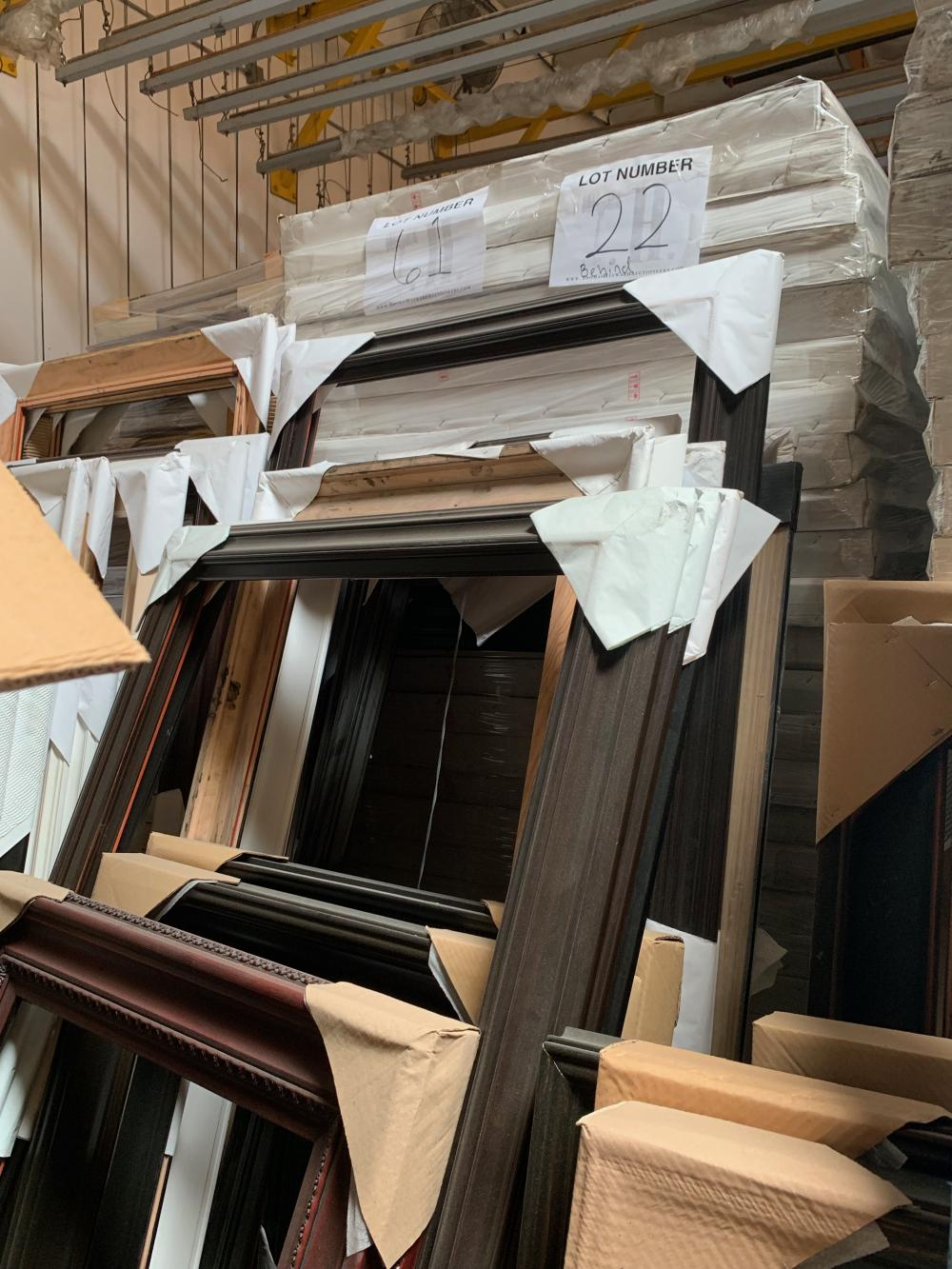 Pallet of Picture Frames 22