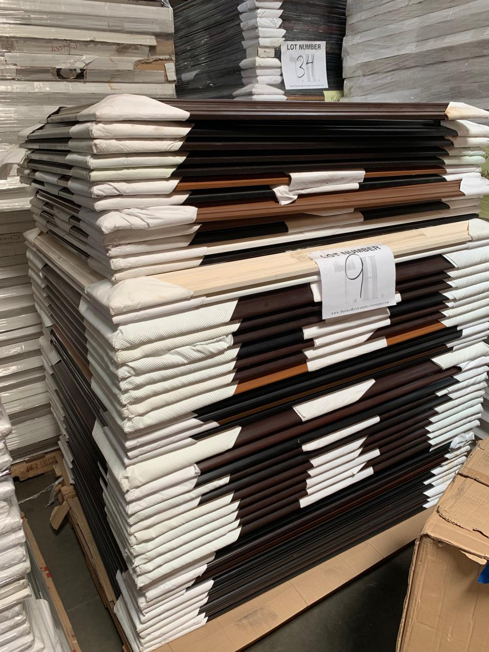 Pallet of Picture Frames  9