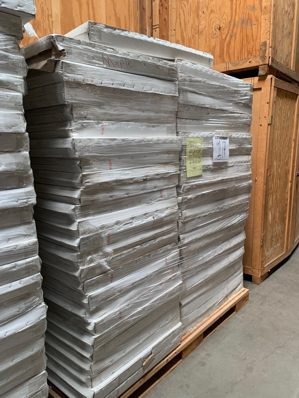 Pallet of Picture Frames  17