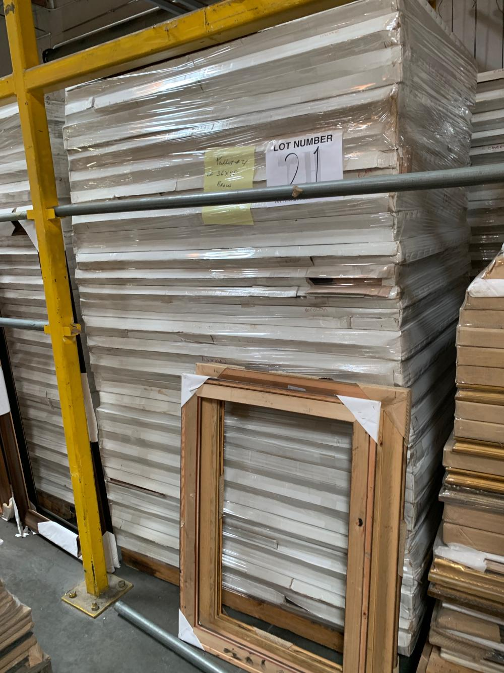 Pallet of Picture Frames 21