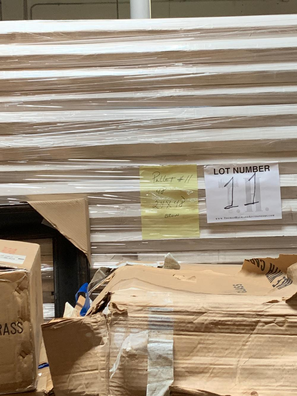 Pallet of Picture Frames  11