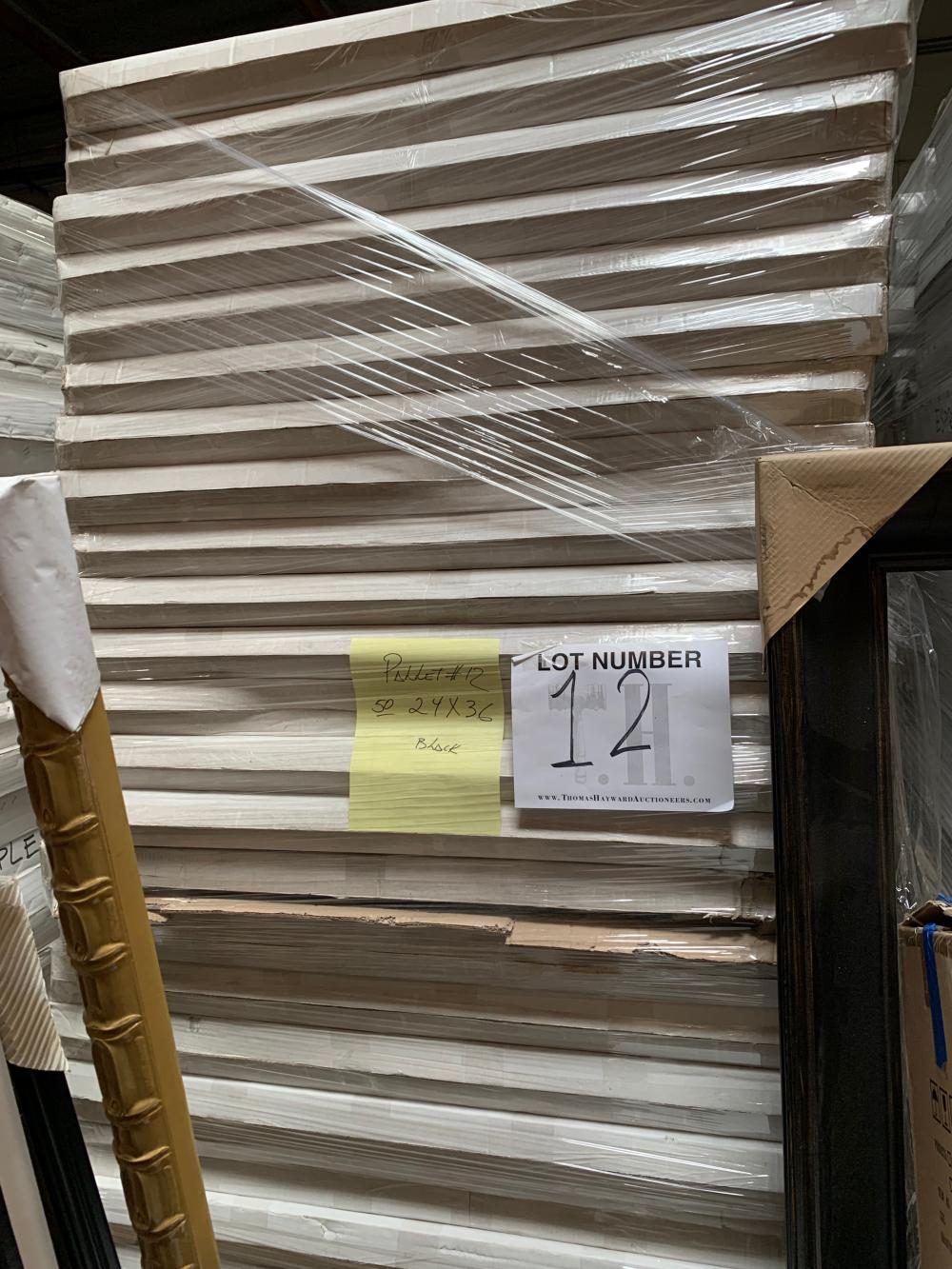 Pallet of Picture Frames  12