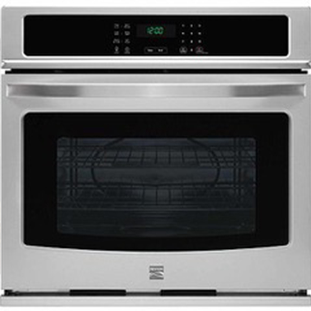 "Kenmore 49423 30"" Electric Self-Clean Single Wall Oven - Stainless Steel"