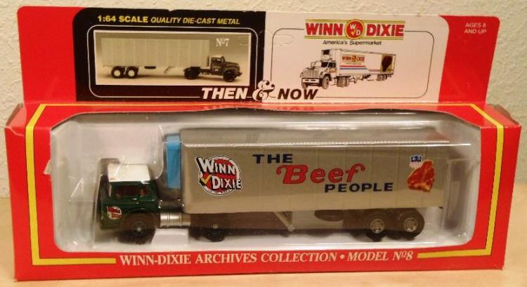 Winn Dixie 1 64 Scale Die Cast Toy Truck 1967 Hartoy