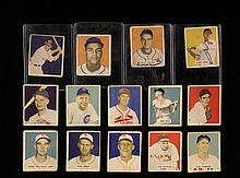 COLLECTION OF (139) VINTAGE SPORTS & NON-SPORTS CARDS - Including: (14) 1949 Bowman Baseball (w/ Roy Campanella rookie, Stan Musial, Ra