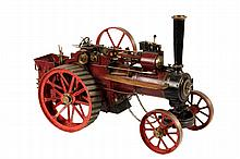 MODEL OF EARLY TRACTOR - A mid 20th c
