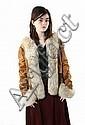Suede  &  Coyote Jacket A Landau Neiman Marcus