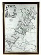 18th C Map North America John Senex 1710, John Senex, Click for value