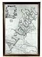 18th C Map North America John Senex 1710, John Senex, Click for value