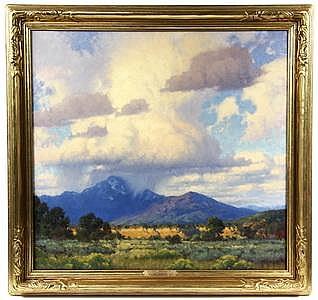OOC Painting Montana by Charles John Fritz MO