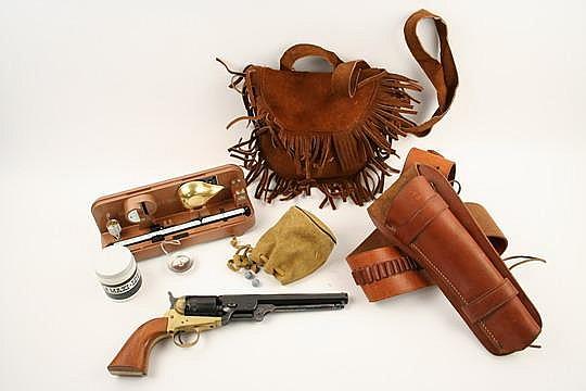 Italian Colt Navy Cap & Ball Pistol #0484