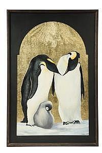 OOP Painting 'The Holy Family' John Squadra CA