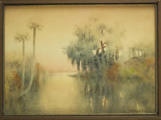W/C FLORIDA WETLANDS JAMES RALPH WILCOX