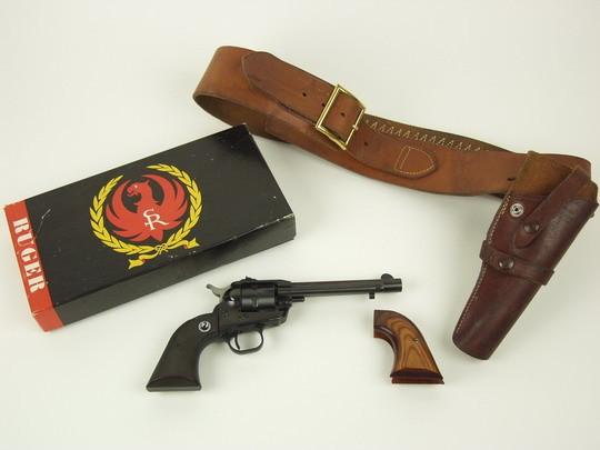 PISTOL - Strom-Ruger  22 caliber six shot single action revo