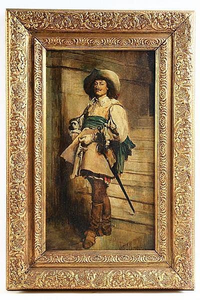 OOB Standing Cavalier Joseph Sloman NJ