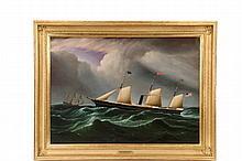 JAMES EDWARD BUTTERSWORTH (NJ/NY/UK, 1817-1894) -