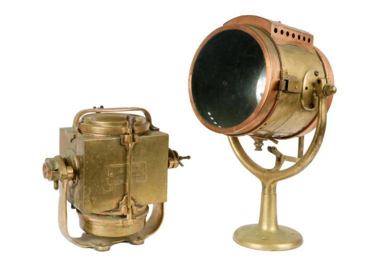 Brass lighting fixtures Antique Brass Lot 811 2 Marine Brass Lighting Fixtures Auctionzip 2 Marine Brass Lighting Fixtures
