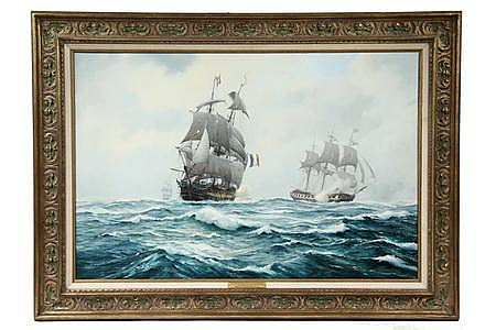 OOC Frigates Action Jan 1797 D GM Gardner British