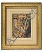 Watercolor 'La Patrouille D'Amourettes' A Dignimont, André Dignimont, Click for value