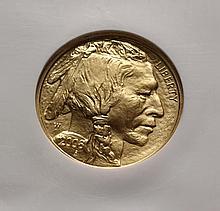 COIN - 2008 W $25.00 Gold American Buffalo 1/2oz. .9999 fine NGC - 70.