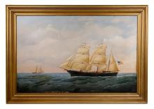 ATTRIBUTED TO JOSEPH B. SMITH (AMERICAN 1798-1876)