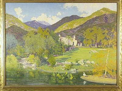 OOC California Mountain Ranch H B Wagoner c1920s