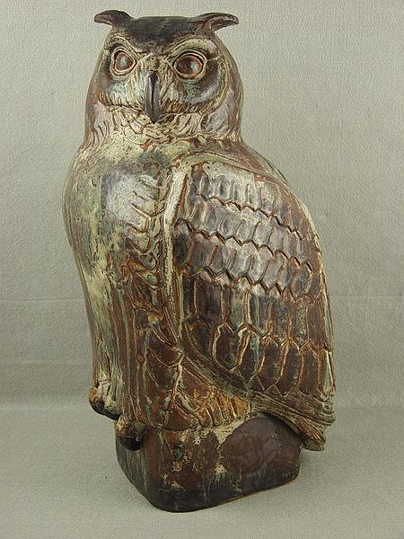 1930 ROYAL COPENHAGEN HORNED OWL K KYHN